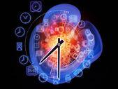 Dinâmica do tempo — Foto Stock