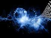 Informacje wszechświata — Zdjęcie stockowe
