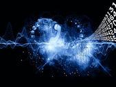 Universo de informações — Foto Stock