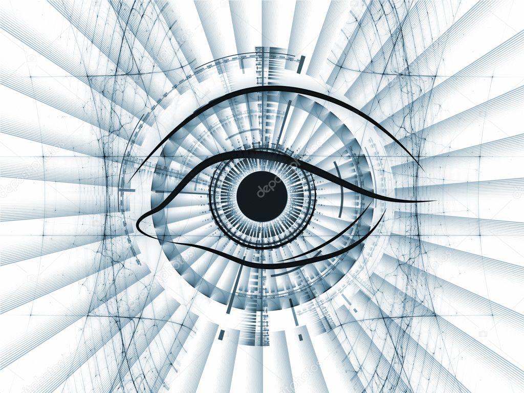 眼睛概述, 分形和现代技术, 力学进展, 人工智能技术, 虚拟现实技术图片