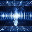 Sound landscape — Stock Photo #10491476