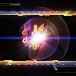 Music lights — Stock Photo #10491545