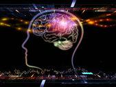 Stream of consciousness — Stock Photo