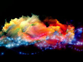Nebulas of color — Stock Photo