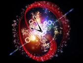 Dígitos do tempo — Foto Stock