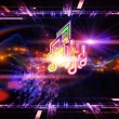Lights of music — Stock Photo #10563180
