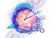 Time loop — Stock Photo
