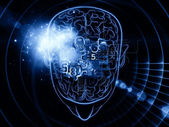 Poder do cérebro — Fotografia Stock