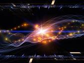 Light propagation — Stock Photo