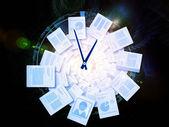 Espiral de escritório — Foto Stock