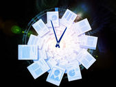 Espiral de oficina — Foto de Stock