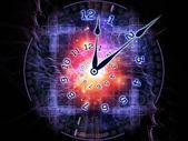 Universo de reloj — Foto de Stock