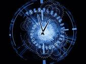 Engrenages de temps — Photo