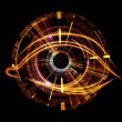 Eye of artificial intelligence — Stock Photo #10720432