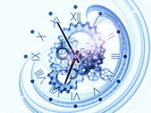 поток времени — Стоковое фото