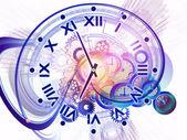 Time burst — Stock Photo