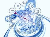 Zodiac mechanism — Stock Photo