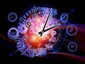 Abstracción del tiempo — Foto de Stock