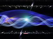 Visualización de la tecnología — Foto de Stock