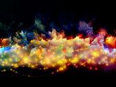 Nebulas of color — Stock Photo