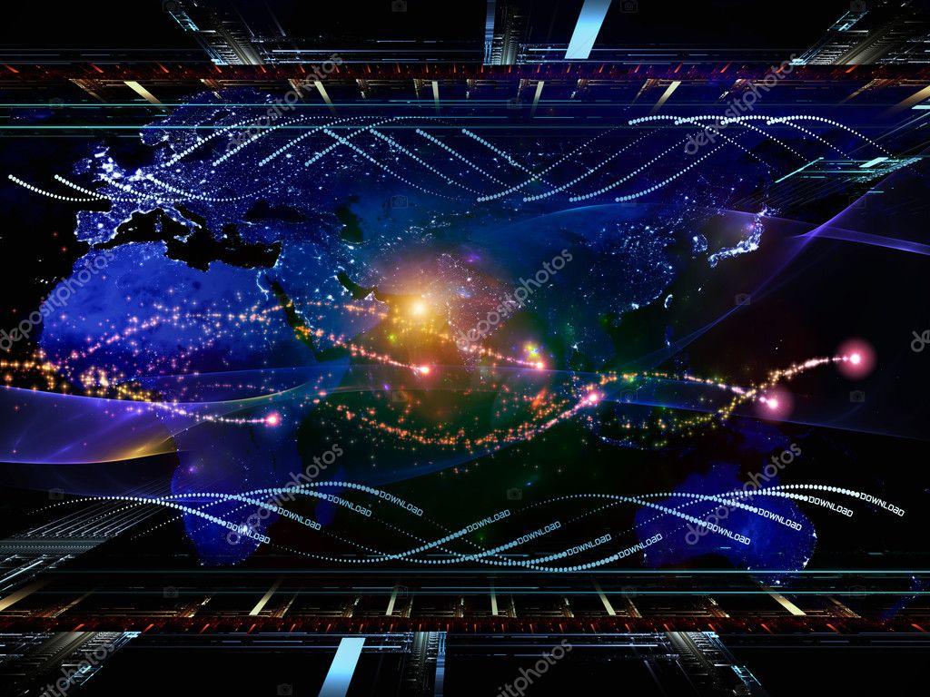 Toward Digital World — Stock Photo © agsandrew #10721772