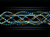 Modello di onda sinusoidale colorato — Foto Stock