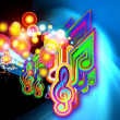 Light of Music — Stock Photo
