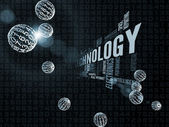 развитие технологий — Стоковое фото