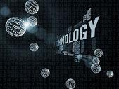 Evolución de la tecnología — Foto de Stock