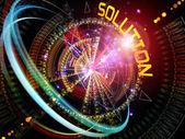 Dynamiczne rozwiązania — Zdjęcie stockowe