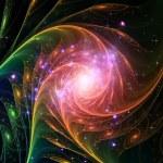 Spiral of Light — Stock Photo