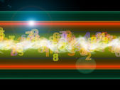 Digital Oscillations — Stock Photo