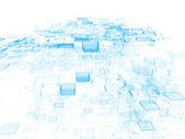 Data Cloud — Stock Photo