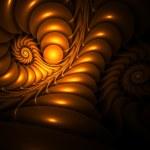 Virtual Whirlpool — Stock Photo
