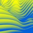 Undulating Wave Design Pattern - ストック写真