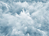 Tints of Fractal Foam — Stock Photo