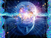 Molecular Thoughts — Stock Photo