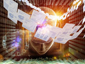 Document Processing — Stock Photo