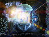 Of Science, Technology and Mind — Stock Photo