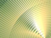 Groen metalen scherm — Stockfoto