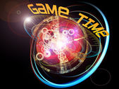 Game Time — Stock fotografie