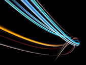 Tridimensional do redemoinho abstrato — Fotografia Stock