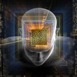 Mind Maze - Stock Photo