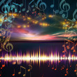 Royalty-Free Stock Photo: Sound Landscape