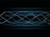 Sine Wave Pattern — Stock Photo