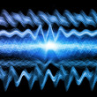 Stock Photo: Abstract Sound Analyzer