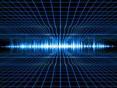 Ses analyzer — Stok fotoğraf