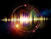 Colores de la música — Foto de Stock