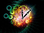 Inside of time — Stock Photo