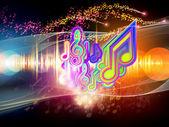Colorful Sound — Stock Photo